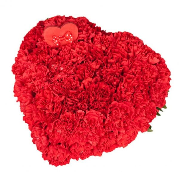 """Сердце из цветов """"With love"""""""