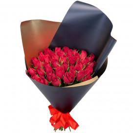 Букет из 35 красных роз (Кения)
