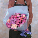 Букет из голландских роз мисти бабблс и мадам бомбастик
