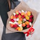 Букет из 35 роз микс (Кения)