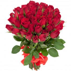 51 красная роза (Кения)