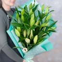 Букет цветов из 5 лилий
