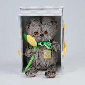 Игрушка Басик BABY с желтым тюльпаном 20см