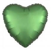 Шар Сердце зеленое 45 см
