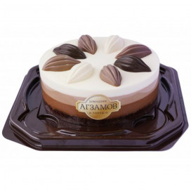 Торт «ТРИ ШОКОЛАДА» 640 г