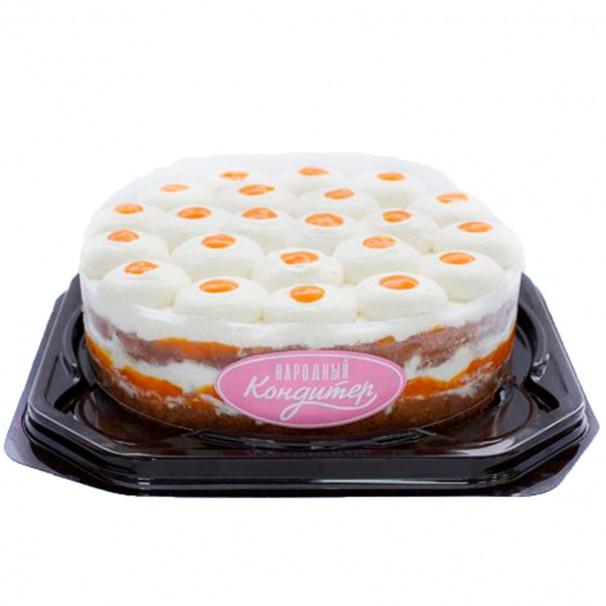 Торт «ОБЛЕПИХОВЫЙ»