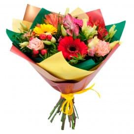 Букет цветов Южный ветер
