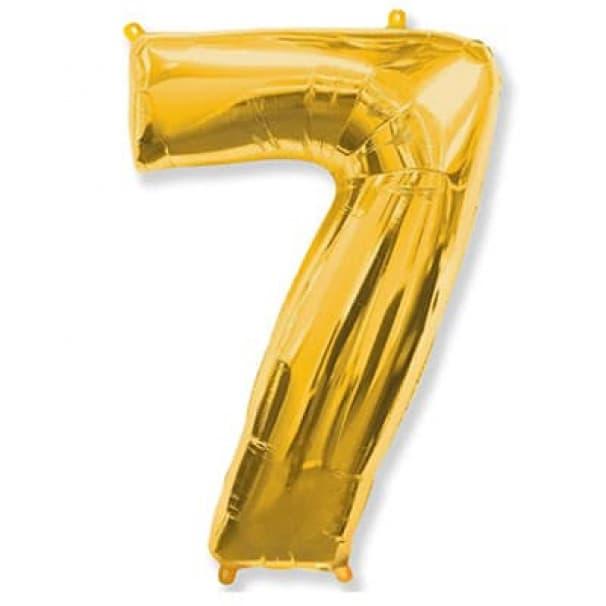 Шар Цифра 7