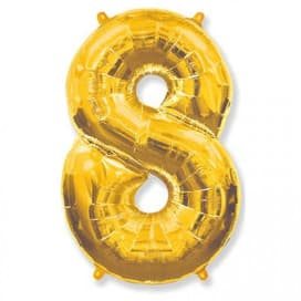Шар Цифра 8 (цвет в ассортименте)