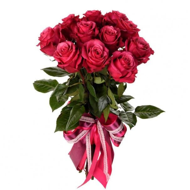 Букет №216 из 15 эквадорских роз