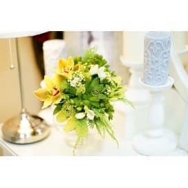 Свадебный букет СВ113 из орхидей