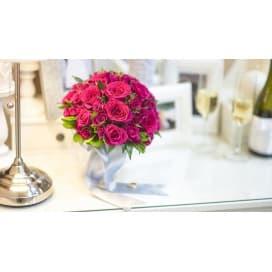 Свадебный букет СВ141 из роз